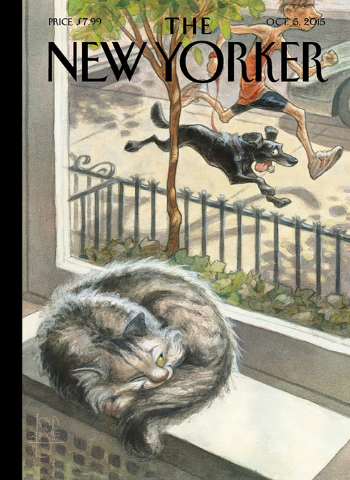 The New Yorker, Peter de Seve, 06 octobre 2015