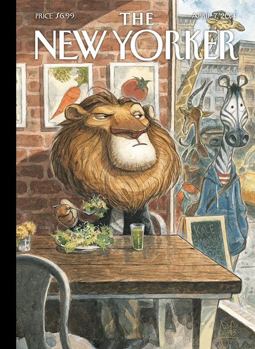 The New Yorker, Peter de Sève 07 avril 2014
