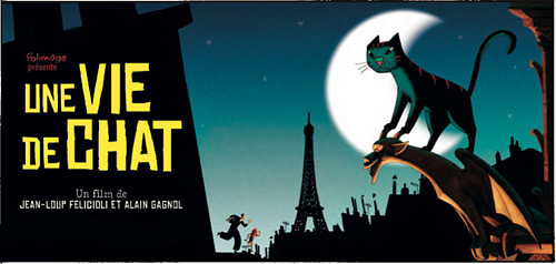 Une vie de chat - Studio Folimage